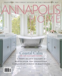 Erin Paige Pitts Cover of Annapolis Home Magazine
