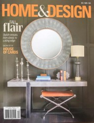 Erin Paige Pitts Cover of Home & Design Magazine 2017