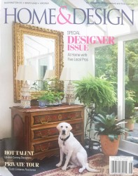 Erin Paige Pitts in Home & Design Magazine July 2017