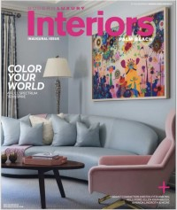 Erin Paige Pitts in Modern & Luxury Interiors Magazine